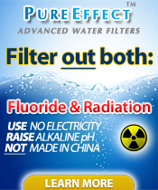 Filter for Fluoride & Radiation!