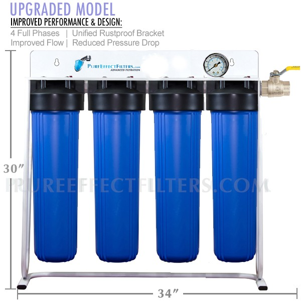 Pure Effect ULTRA-WHC | City Water Whole House Filtration System