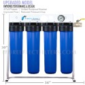ULTRA-WH-C (City-Water) | Whole-House Fluoride, Radiation, Heavy Metal, Chem and Micro-Sediment Water Filter / Revitalizer