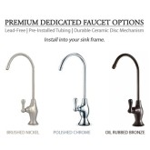Premium Dedicated Faucets (For undercounter systems)