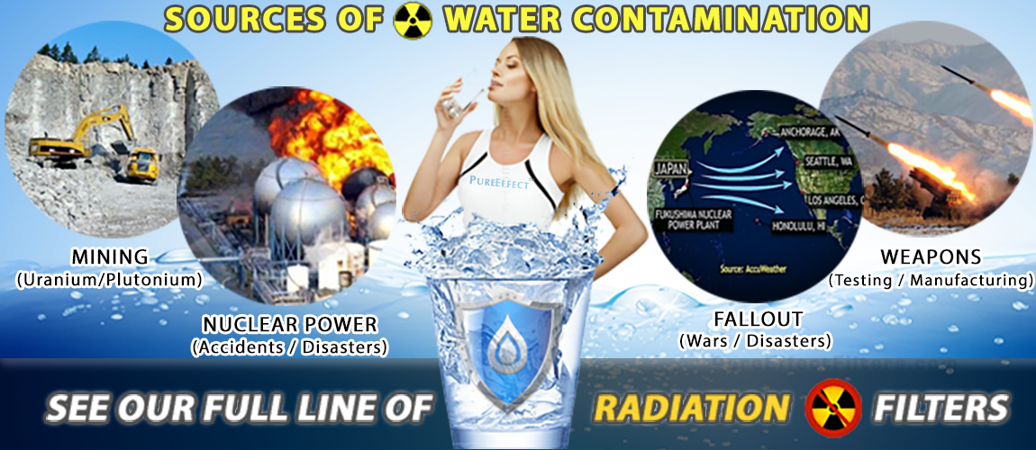 Pure Effect Filters | Radiation Water Filters | Fluoride